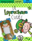 Lil Leprechaun Cuties Writing Craftivity & Data Collection