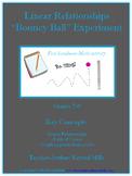 "Linear Relationship ""Bouncy Ball"" Math Experiment (Grades 7-9)"