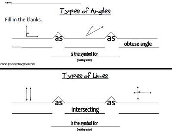 Lines and Angles Bridge Maps