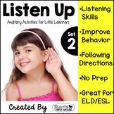 Listening Activities for Common Core~ Listen Up 2!