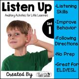 Listening Activities for Common Core~ Listen Up!