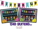 Listening Activities for Common Core~ Listen Up 1 & 2 THE BUNDLE