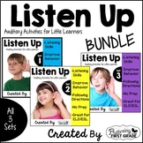 Listening Activities for Common Core~ Listen Up 1, 2, and