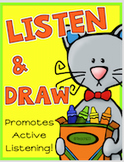 Listening Skills SEASONS Bundle Behavior and Classroom Management