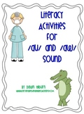 Literacy Activities for /au/ and /aw/ sound