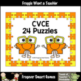 Literacy Center--CVCE Puzzles (24 two piece puzzles)
