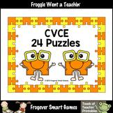 Literacy Center--CVCE Puzzles (24 two piece puzzles)
