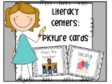 Literacy Center Picture Cards