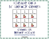 Literacy Center Schedule Cards and Management System