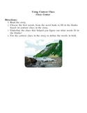 Literacy Center: Using Context Clues