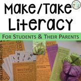 Literacy Night Parent Night Make and Take