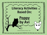 Literacy Packet Based on the Book: Poppy by Avi