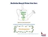 Literacy SkiLLs for LIFE : Bulletin Board Kindergarten