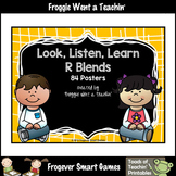 Literacy Teaching Resource--Look, Listen, Learn R Blends Posters