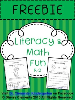 Literacy and Math Fun FREEBIE