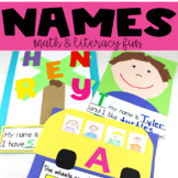 Names Unit: Literacy and Math Fun with Names