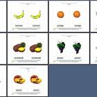 Literacy/Vocabulary/Montessori Nomenclature Cards: Fruits