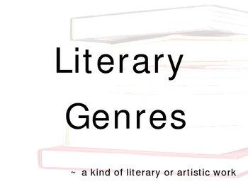 Literary Genres Power Point Presentation