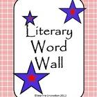 Literary Word Wall