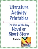Literature Activities & Response Pack: Text Structures & L
