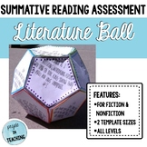 Literature Ball Summative Fiction/Non-Fiction Activity