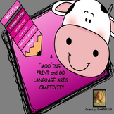 COW CRAFT/CREATIVE WRITING/SEQUENCING/FOLLOW DIRECTIONS/LA