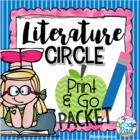 Literature Circle Reading Log FREEBIE