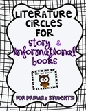 Literature Circles for the Primary Grades-COMBO story/info