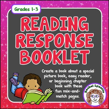 """Literature Response, """"A Book About my Book"""" Use with Any P"""