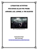 Middle School Poetry Study: 3 Edgar Allan Poe Poems (CCSS