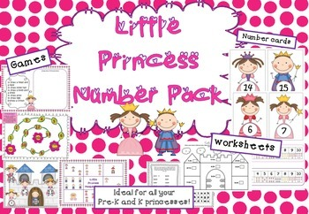 Little Princess Number Pack