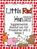 Little Red Hen- Supplemental Resources for Treasures First Grade
