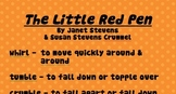 Little Red Pen Vocabulary & Word Wall