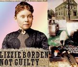 Lizzie Borden Axe Murders & Trial Presentation + Quiz + Fl