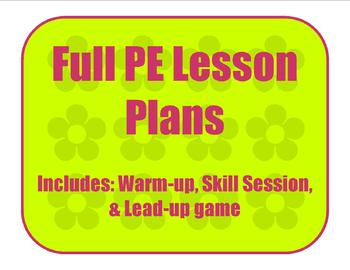 Locomotor Full Lesson Plan