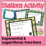 Logarithms Stations Activity
