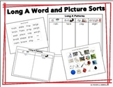Long A: Picture and Word Sorts