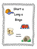 Long A Short A Bingo Game