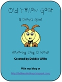 Long O Phonics Game Pack - Old Yellow Goat