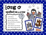 Long O spelled OA and OW Word Work Pack