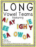 Long Vowel Teams Bundle Packet