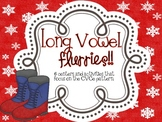 Long Vowel Flurries - Centers Focused on CVCe words