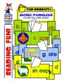 Long Vowels Flip Booklets