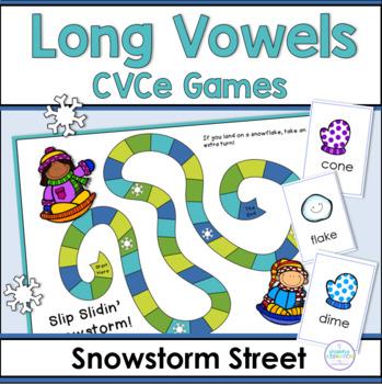 Long Vowels ~ Snowstorm Street Game