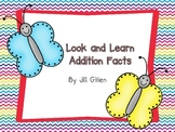 Look and Learn Addition - Butterfly Theme