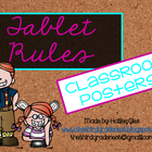 Tablet Rules: Chalkboard and Brights