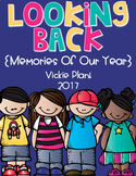 Looking Back {Memory Book For Pre-k, Kindergarten, 1st, or