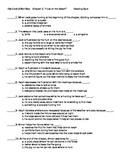 Lord of the Flies Chapter 3 Reading Quiz