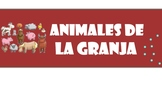 Animales de la granja - farm animals in Spanish
