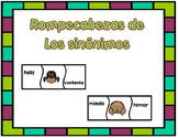 Los sinónimos-Synonyms Spanish